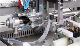 Breakdown inspection machine close-up